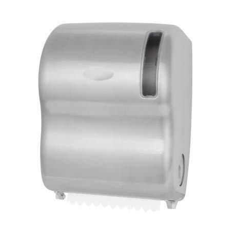 Dispensador de papel higiénico – Dispensador de papel higiénico – Dispensador de manos – Dispensador de toallas de manos en rollos – Acero inoxidable cepillado