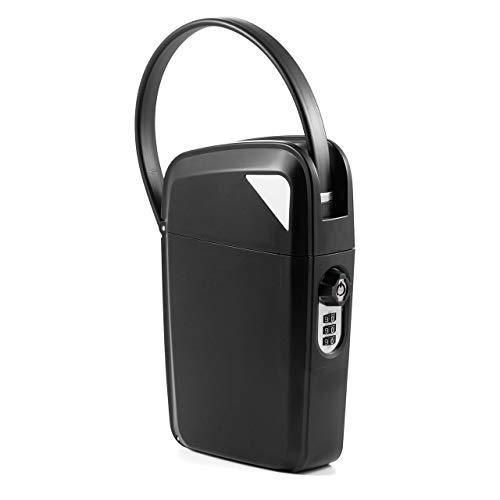 イーサプライ セキュリティボックス 貴重品 鍵収納 キーボックス ダイヤル錠 鍵付き 小型 マスターキー EZ2-SL070
