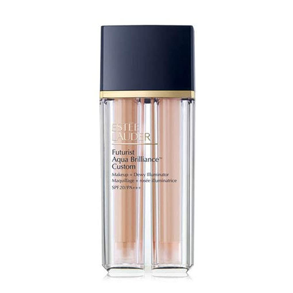 Estee Lauder(エスティローダー) Futurist Aqua Brilliance Custom Foundation & Illuminator Duo SPF20/PA+++ 15ml ×2EA #2WO Warm Vanilla
