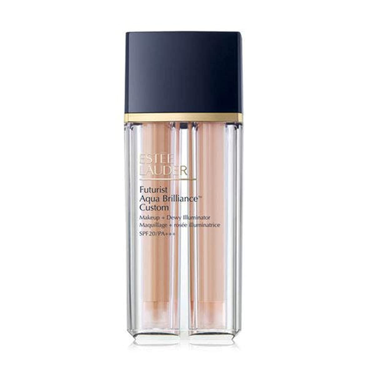 腐敗線もちろんEstee Lauder(エスティローダー) Futurist Aqua Brilliance Custom Foundation & Illuminator Duo SPF20/PA+++ 15ml ×2EA #2CO Cool Vanilla
