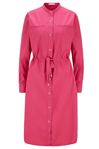 BOSS Damen Espirit 1 Hemdblusenkleid aus Baumwolle mit Tunnelzug an der Taille