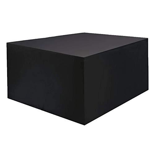 ZXHQ Cubierta Mesa JardíN Patio 230x165x80cm, Funda Muebles Terraza Exterior, Patio JardíN Protectora Impermeable A Prueba Viento Resistente Al Polvo para Sofa Muebles Mesas Y Sillas