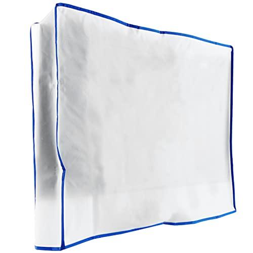 PrimeMatik - Coperchio di Protezione per la Copertura di Schermo 28   Piatto Monitor LCD TV 56x45x15cm
