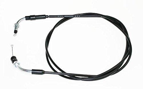Gaszug geschraubt für 4-Takt Roller wie z.B. Baotian, Rex RS450, Jinlun MKS Ecobike 50, Flex Tech Hurrican, Zongshen