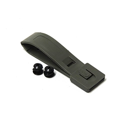 TACTICAL TAILOR - SHORT MALICE CLIP W/ MOUNTING HARDWARE FOR MOLLE ATTACHMENT (BLACK)