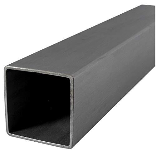 Tubo rectangular - cuadrado de acero inoxidable V2A, cualquier cantidad, cualquier longitud, a la medida deseada