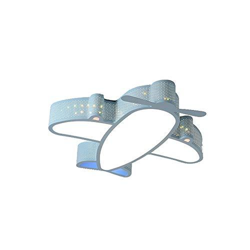 SPNEC Avión de Dibujos Animados, luz de Techo para niños, iluminación de habitación para niños y bebés, luz de Techo para habitación de niños, lámpara de Techo para habitación Infantil