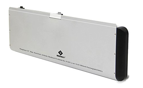 Egoway 5300mAh New Replacement Laptop Battery for Apple MacBook Pro 15' A1281 A1286 (2008 Version)