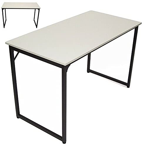 Escritorio para ordenador, mesa de oficina, 120 x 60 cm, despacho, 57055 AWZ