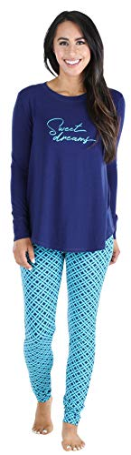 Sleepyheads Women's Sleepwear Longsleeve & Legging Pajama PJ Set-Nutcracker (SH1140-4047-XL)