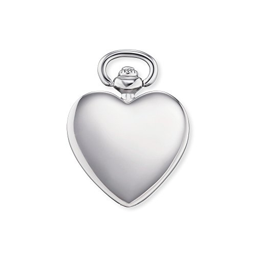 Engelsrufer Damen Heart Timeless Anhänger 925er-Sterlingsilber rhodiniert Größe 21 mm