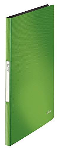 Leitz 45641050 Solid Sichtbuch PP A4, 20 Hüllen, hellgrün