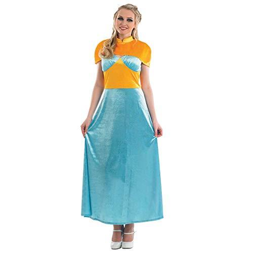 Leuke Shack FN3987XL kostuum, Vrouwen, Middeleeuwse prinses, X-Large