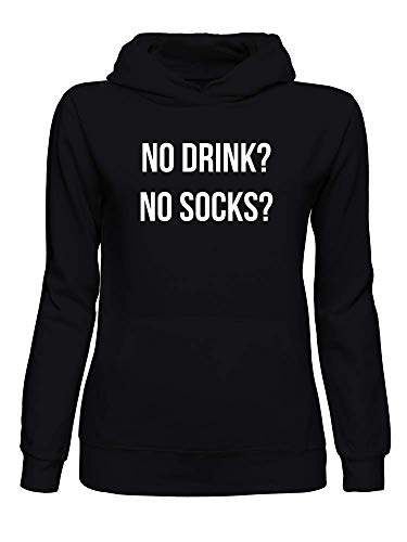 graphke No Drinks? No Socks? Sweat a Capuche Femmes XX-Large