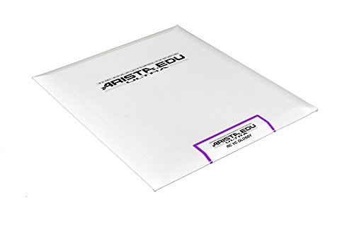 Arista EDU Ultra VC RC Black & White Photographic Paper, Glossy 8x10, 25 Sheets