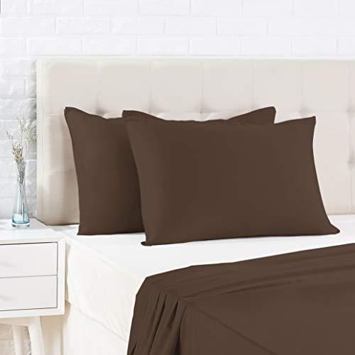 Amazon Basics - Funda de almohada de satén - 50 x 80...