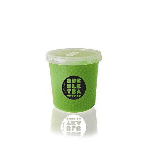 Popping boba Fruchtperlen für Bubble Tea Grüner Apfel (500 g)