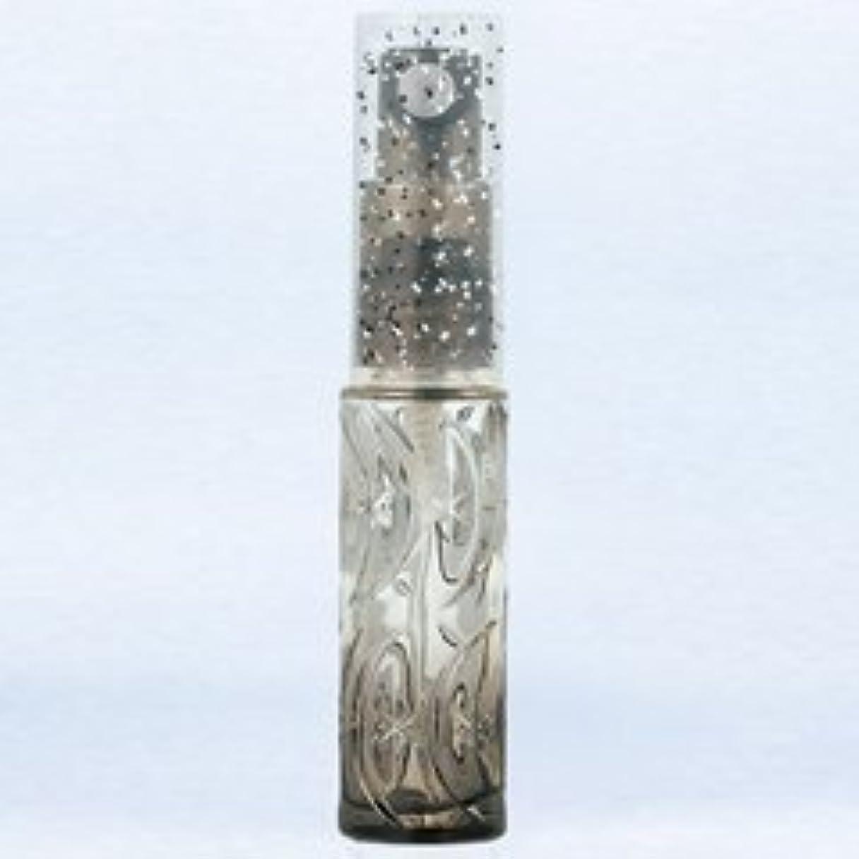 用心豊富な一般的な【ヤマダアトマイザー】ハンドメイドグラスアトマイザー プラスチックポンプ 70345 ムーンスターグラデ ブラック 約3.5ml
