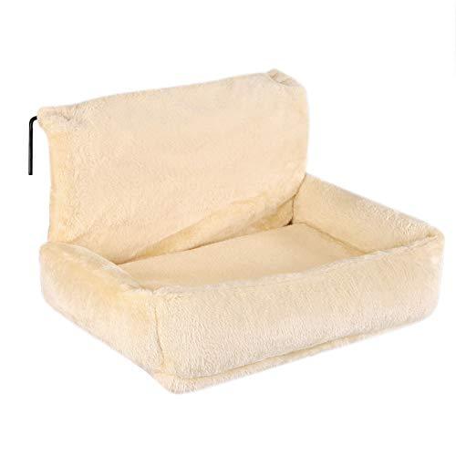 dibea Katzenbett für Heizungen Katzenheizungsliege Katzenhängematte für Heizungen Farbe Beige