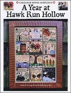 Year at Hawk Run Hollow Cross Stitch Chart