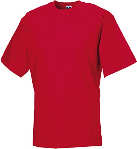 Russell Collection - T-Shirt - - Manches Courtes Homme - Rouge - Red - Classic Red - XXXXL