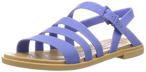 crocs Crocs Tulum Sandal Women Lapis/Tan Croslite