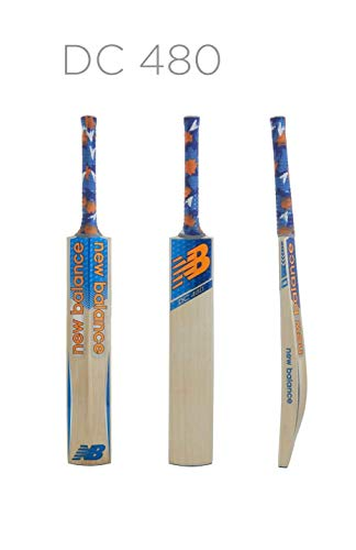New Balance DC 480 Cricket Bat (2017) - Short Handle, 2lbs 9oz