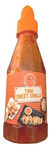 J-LEK- Thai Sweet Chilli- Salsa Agrodolce- Il sapore Thai per i tuoi pasti- Essenziale per un buon Pad Thai- 235 ml