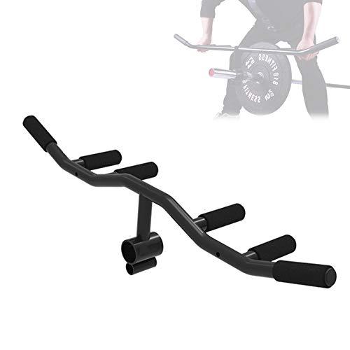 T-Bar Mehrere Griff Für Vorgebeugtes Rudern, Stahl Core-Trainer Landmine Schaum Griff, Platz Sparen