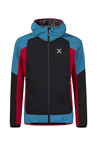 Montura Giacca Antivento Softshell Premium Wind Hoody Jacket (S)
