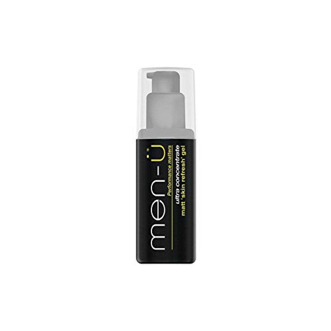 スクワイア遠征かごMen-? Matt Skin Refresh Gel (100ml) (Pack of 6) - 男性-?マット肌のリフレッシュジェル(100)に x6 [並行輸入品]