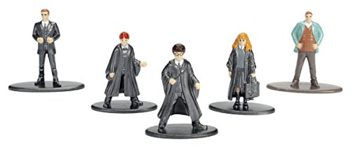 Jada- Nano MetalsFig Pack 5 figuras Harry Potter, (JADA98666), modelos surtidos, 1 pack 1
