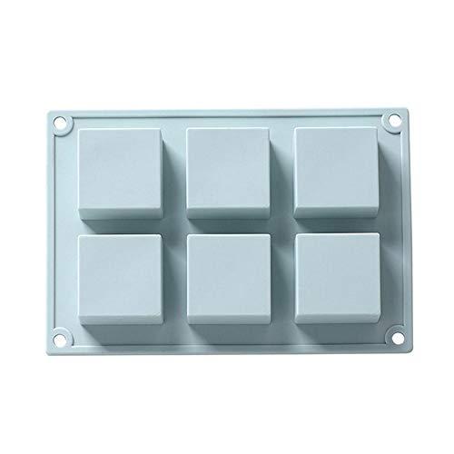 Meiibo multifunctionele ijslolly matrijs zeep mal herbruikbare koekjes vormen siliconen Fondant schimmel decoratie bakgereedschap 22.2 * 16 * 2.5cm Blauw