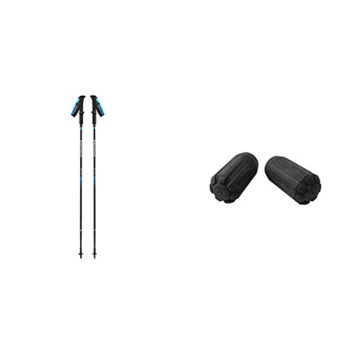 Black Diamond Distance Carbon Z Bastones, Unisex Adult, Negro, 110 cm +...