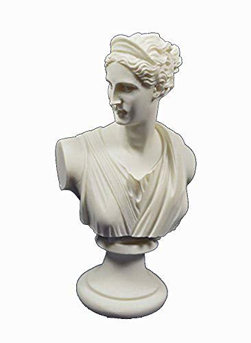 Artemis Skulptur Büste Diana Antike griechische Göttin der Jagd Statue