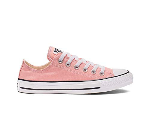Converse Women's Chuck Taylor All Star Seasonal Color Sneaker, Coastal Pink, 13 W US