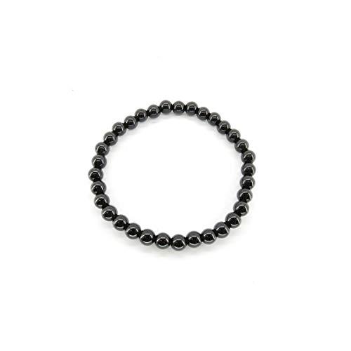 Pulsera ElasticadeTurmalina NegraBolas de 6mm El Precio es por Unidad.  Minerales y Cristales, Belleza energética, Meditacion, Amuletos Espirituales