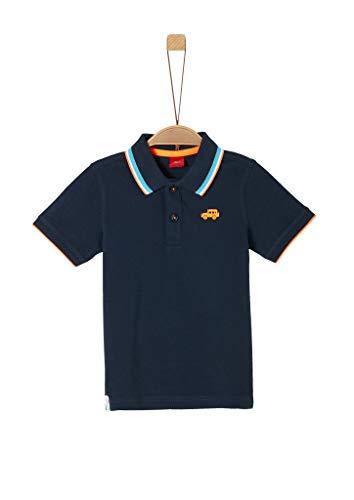 s.Oliver Junior 404.10.004.13.130.2037855 Polohemd, Jungen, Blau 116/122 REG