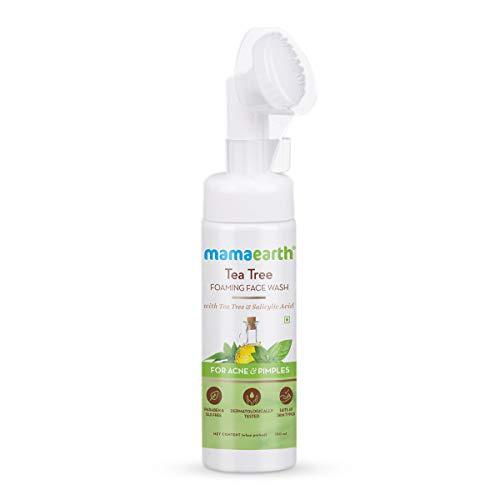 Mamaearth Tea Tree Foaming Face Wash with Tea Tree & Salicylic Acid for Acne & Pimples – 150ml