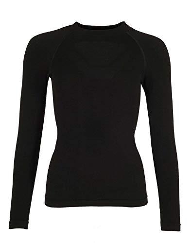 Ternua Camiseta Ulan T-Shirt Mujer, Black, L