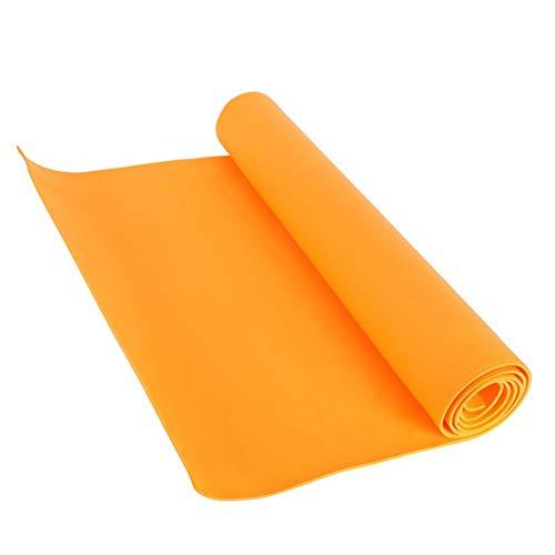 YCEOT 4 mm yogamattor halkskydd filt eva gymnastik sport hälsa bantning fitness träningsblock kvinnor sport yoga matta