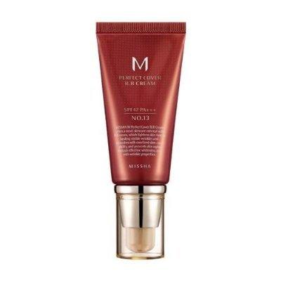 missha M Perfect Cover BB Cream No. 23Natural Beige spf42PA + + + (50ml)
