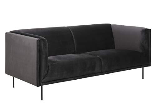 Movian Ola - Sofá de 3 plazas, 88 x 200 x 79 cm (largo x ancho x alto), gris antracita