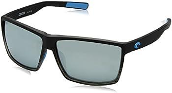 Costa Del Mar Rincon Polarized Glass Gray Silver Mirror Sunglasses