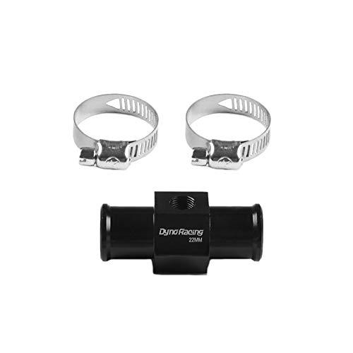 Fauge Sensor de Temperatura de Agua de Motocicleta Universal Sensor de Manguera de TuberíA de Junta Adaptador de Medidor Sensor de Temperatura 22Mm