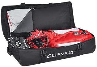CHAMPRO Sports Ultimate Catcher/Umpire Equipment Bag w/Detachable Mesh Laundry Bag (Black)