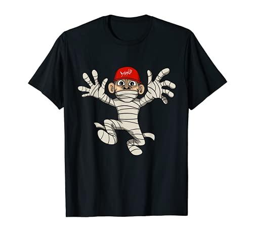 Halloween Divertido Mono Mamá Disfraz Camiseta