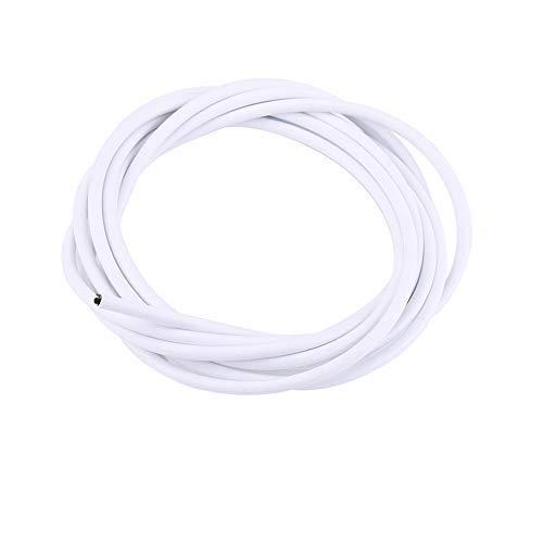VGEBY Cable de Cambio de Bicicleta de Acero para Bicicleta de Montaña 5 Colores (Color : Blanco)