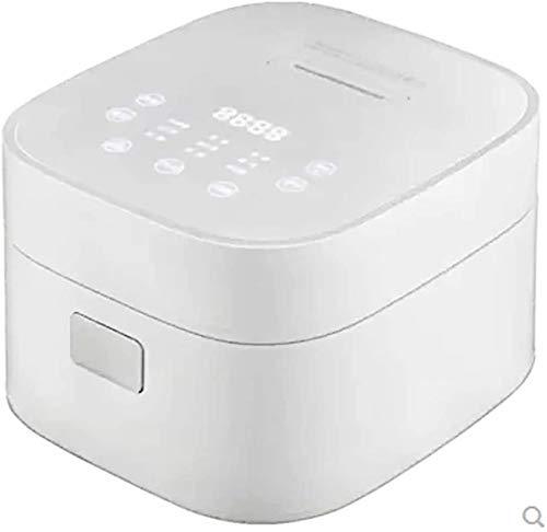 Mikrocomputer-Typ Timer Reiskocher, Mini Smart Reiskocher 600W High-Power Concentrating Heizung, Geeignet für Naturreis, weißer Reis und Porridge