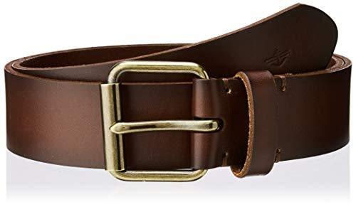 Dockers Iconic Broken-in Belt Cinturón, Marrón (Brown 0002), 90 (Talla del Fabricante: 36) para Hombre